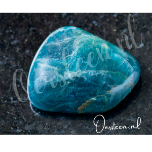 Apatiet-trommelsteen-blauw